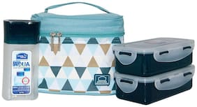 Lock & Lock Assorted Lunch bag ( Set of 1 , 1410 ml )