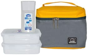Lock & Lock Assorted Lunch box ( Set of 1 , 470 ml )