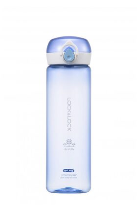 Lock & Lock One Touch Bottle Blue (1 PC)