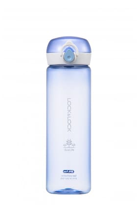 Lock & Lock One Touch Bottle Blue (1 PC)