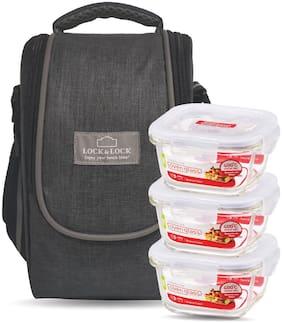 Lock & Lock Assorted Lunch bag ( Set of 1 , 900 ml )