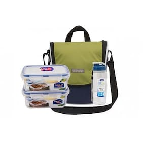 Lock & Lock Sling Bag & Lunch Box Set (1 PC)
