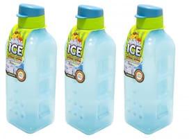 Lock & Lock 1000 ml Plastic Blue Fridge bottles - Set of 3