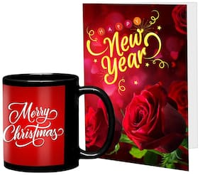 LOF New Year Wishes Gifts set Best Combination Present For Your Girlfriend;Boyfriend;Friend's & Family With Greeting Message Card D27
