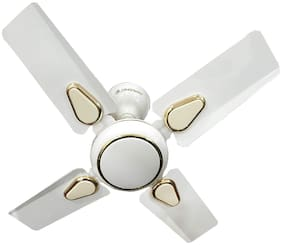 Longway Starlite Deco 600 mm Economy Ceiling Fan ( White , Pack of 1 )