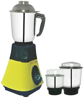 LONGWAYSuper DLX 700 WATT 3 JAR Mixer Grinder Powerful Copper Motor