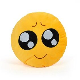 Cortina Looking Smiley Pillow