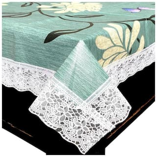 LooMantha 4 Seater Non-Woven  Center Table Cover (Pack of 1)