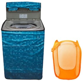 Loomantha Waterproof 1Pc Top Load Washing Machine Cover And 1Pc Mesh Laundry
