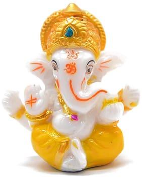 Lord Ganesh ji Statue Spiritual idols Decorative  Showpiece Lord Ganesha Murti  Gift item & for Mandir / Temple / Home Decor / Office(1pc.)