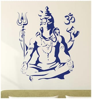 WallTola Wall sticker ( Set of 1 )