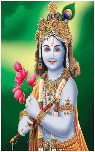 Buy Lord Shri Krishna Poster Online At Low Prices In India Paytmmall Com