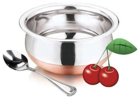 Lovato Stainless Steel Copper Base Cookware Handi With Spoons