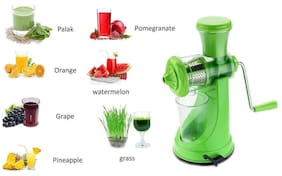 Lucky Box Deluxe Fruit & Vegetable Manual Juicer With Steel Handle Hand Juicer