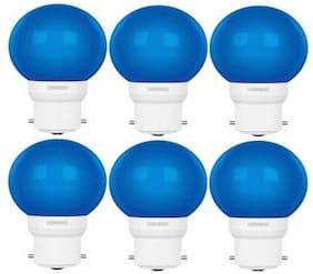 LUMINOUS 0.5W LED LAMP AMBER ECO B22D BLUE