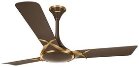 Luminous 1200Mm Deltoid Ceiling Fan Expresso Gold