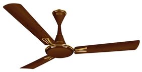 Luminous Audie Cocoa 3 Blades (1200 MM) Ceiling Fan (Cocoa)