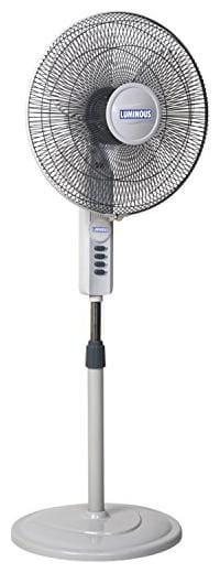Luminous 400Mm Luminous Fanfare Pedestal Fan Grey