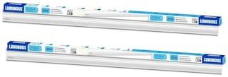 Luminous Indus P01 4Ft Cdl Cool White 20W LED Batten-Pack of 2