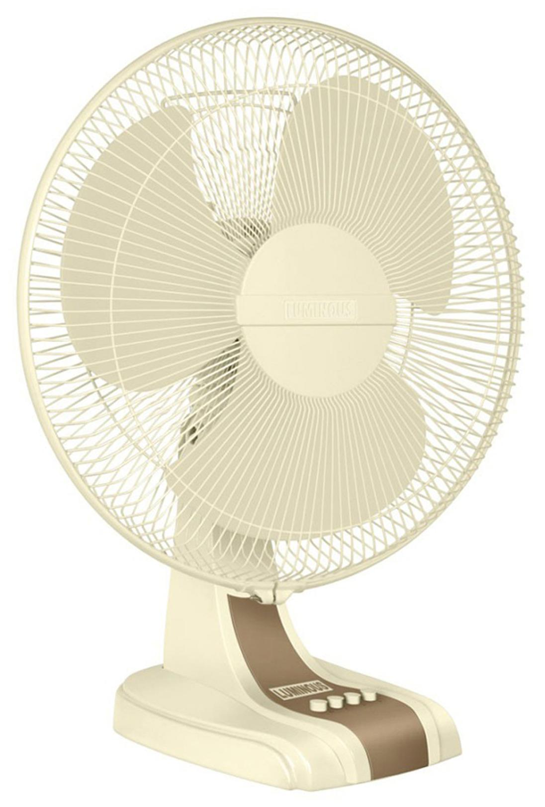 Luminous Mojo HS 3 Blades (400 mm) Table Fan (Cream)