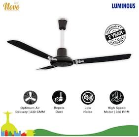 Luminous Rio Novo 1200 MM Ceiling Fan ( Black )