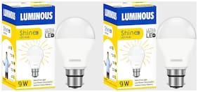 Luminous Shine Eco Base B22 7-Watt LED Bulbs