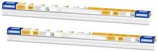 Luminous Indus E01 4Ft Cdl Cool White 18W LED Batten-Pack of 2