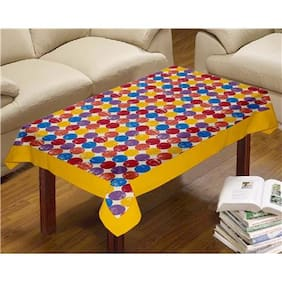 Lushomes Titac Printed Centre Table Cloth