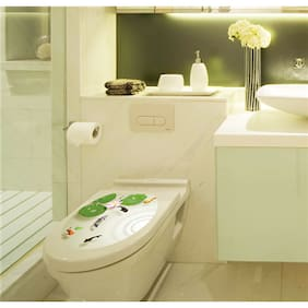 M2-1009 sea creatures toilet & bathroom Wall Sticker JAAMSO ROYALS