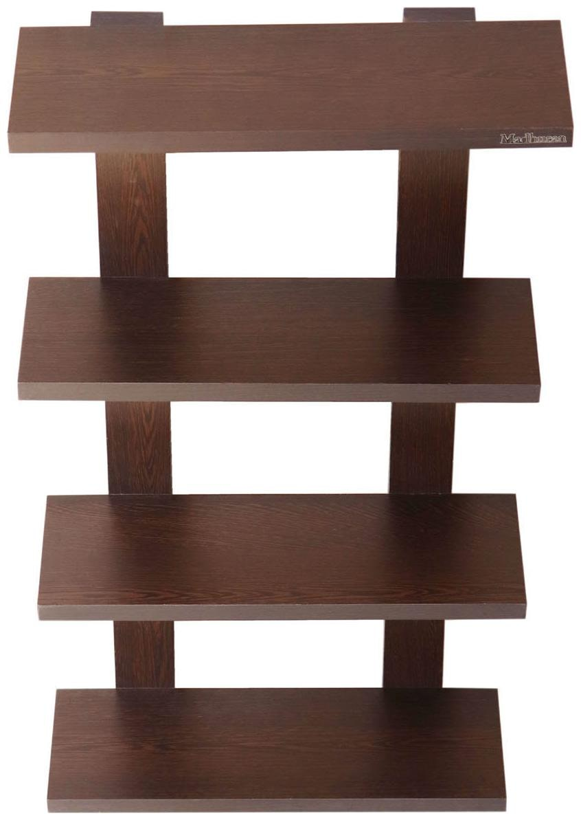 Madhuran Altair Wooden Wall Shelf Unit Wenge/Shelves Rack  37.5 X 12.5 X 68 cm