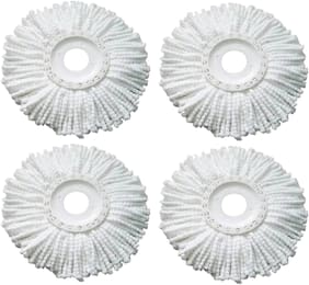 Magic Mop Refill Set of 4 (White)