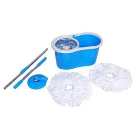 Magic Mop Steel/ House Cleaning Mop (Color as per availability)
