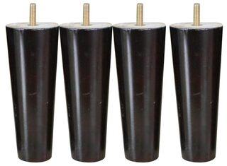 Buy Magideal 4pcs Cone Shape Eucalyptus Solid Wood Furniture Sofa