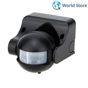 Magideal Adjustable IR Infrared Motion Sensor Automatic Light Control Switch Black