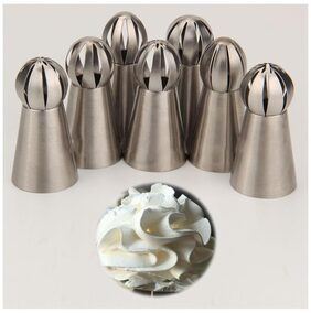 Magideal Russian Flower Icing Piping Nozzle Tip Pastry Cake Baking Tool DIY #6