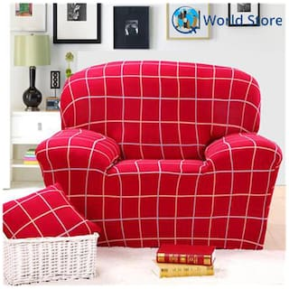 Buy Magideal Single Sofa Cover Spandex Elastic Couch Case