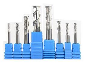 Magideal XL550 Tungsten Steel Aluminium Router Cutter Bits Tools Endmills Drill 3mm