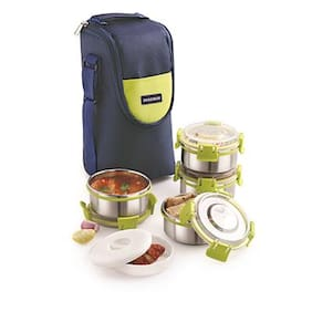 Magnus Assorted Lunch box ( Set of 1 , 1200 ml )