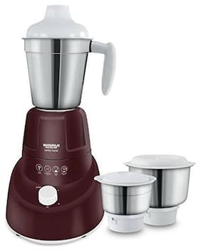 Maharaja Whiteline TURBO TWIST 750 W Mixer Grinder ( Brown , 3 Jars )