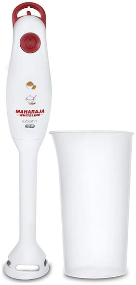 Maharaja Whiteline TURBOMIX PLUS 400 W Hand blender ( Red & White )