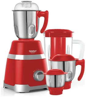 Maharaja Whiteline ULTRAMAX ELITE 800 W Mixer Grinder ( Red , 4 Jars )