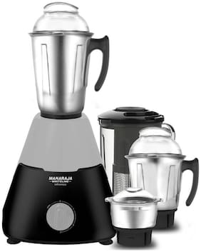 Maharaja Whiteline INFINIMAX ELITE 750 W Mixer Grinder ( Grey & Black , 4 Jars )