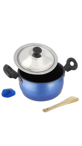 Induction Cooking Pots ~ Buy mahavir non stick induction base cooking pot mm