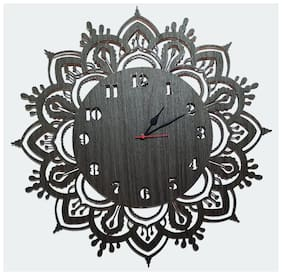 Maison & Cuisine Wood Analog Wall clock ( Set of 1 )