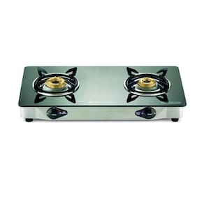 Bajaj 2 Burners Gas Stove - Black