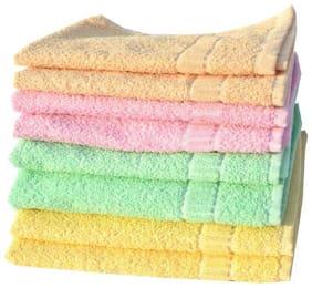 Mandhania Cotton Hand Towels Set Of 8