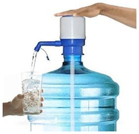 Manual Hand Press Pump Bottled Water Dispenser (1Pc) Multi Color