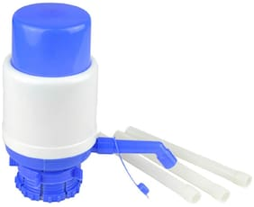Manual Hand Press Barrel Water Dispenser Pump  for Bisleri Barrel Mineral Bottle Jerry Cans (1Pc) Multicolor
