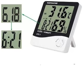 MARKETON Plastic Digital Table clock & Wall clock ( Set of 1 )