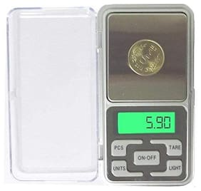 Marketwala 200 Grams Mini Pocket Weight Scale Measurement Weighing Machine jewellery Weighing Scale (1Pc)